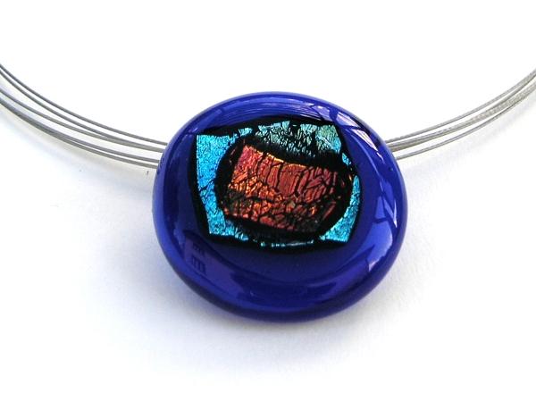 Rave Halskette cobalt blau