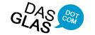 Weizenglas Logo dasglas Unikat Trinkglas Serie