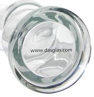 DasGlas unterseite exklusives weizenglas mit knick