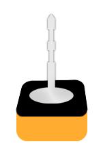 fusingschmuck ohrstecker aus glas