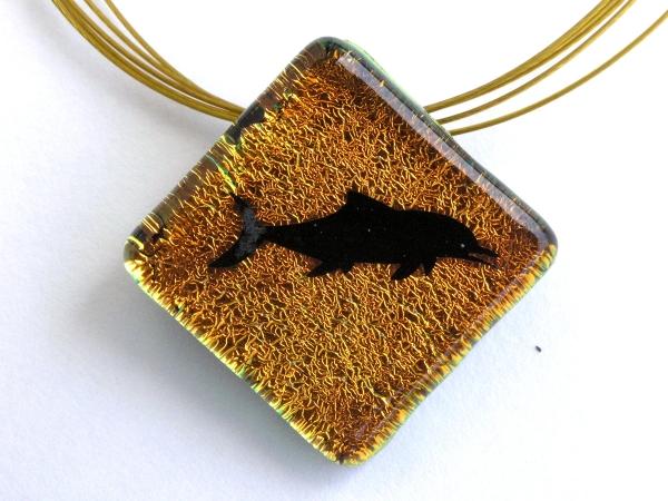 Oceanic Shadow Taucherschmuck Anhänger Delfin 4
