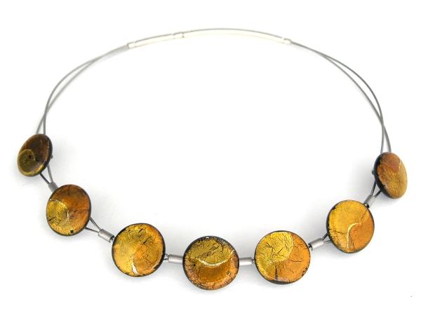 Midnight Halskette Sinus gold