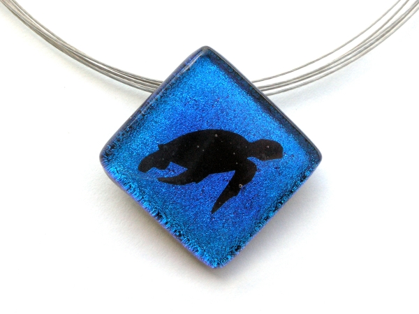 Oceanic Shadow Taucherschmuck Anhänger Schildkröte 2