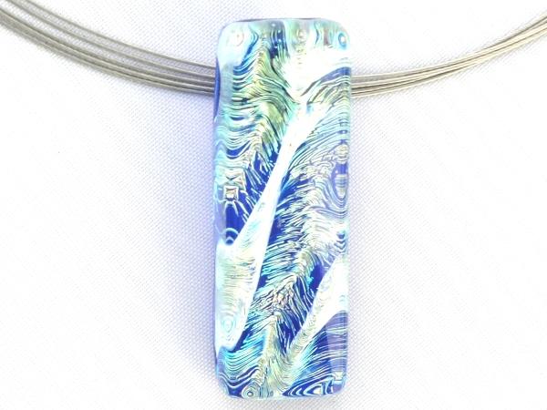 Fog Halskette cobalt