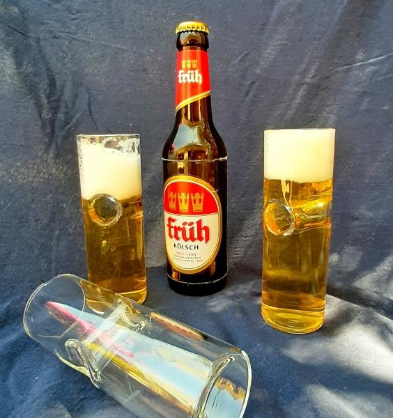 """Fingerglas für """"Kölsch"""" Bier"""