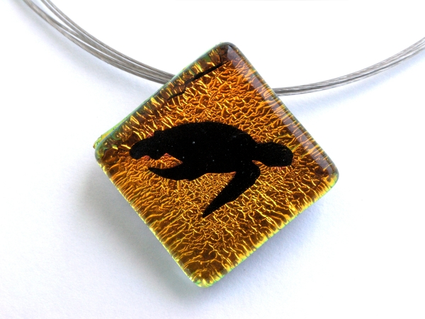 Oceanic Shadow Taucherschmuck Anhänger Schildkröte 4