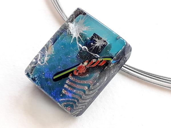 Halskette Confetti Schmuck Unikat GHU127