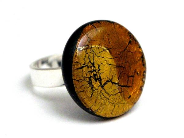 Midnight Ring gold