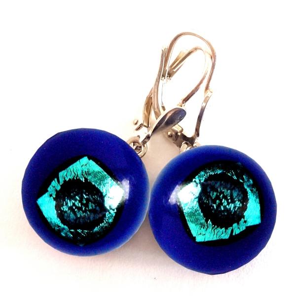 Rave Ohrhänger cobaltblau