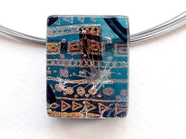 Halskette Confetti Schmuck Unikat GHU126