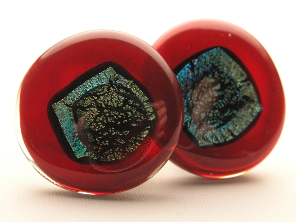 Rave Ohrclips rubin