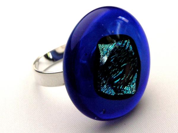 Rave Ring cobalt blau