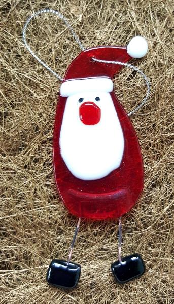 """Weihnachtshängebild Santaclaus """"Droppy"""""""