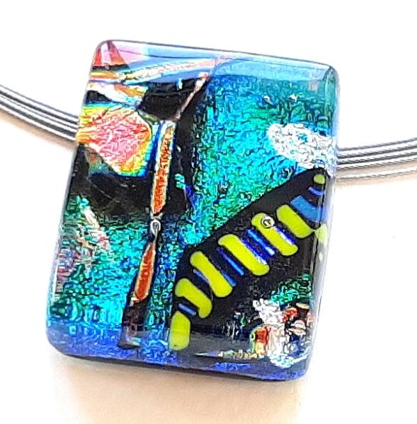 Halskette Confetti Schmuck Unikat GHU246
