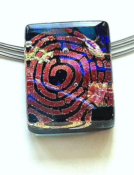 Halskette Confetti Schmuck Unikat GHU253