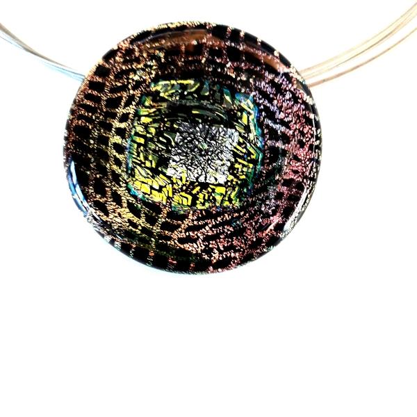 Halskette Black Beauty Schmuck Unikat GHU49