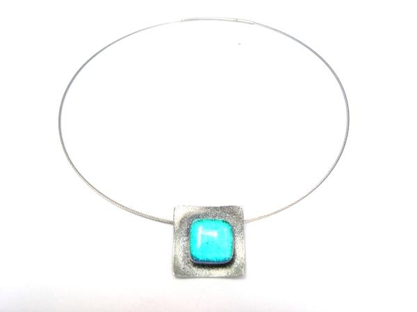 Hip Halskette mini türkis