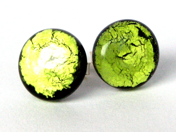 Midnight Moon Ohrstecker peridot