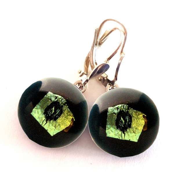 Rave Ohrhänger dunkelgrün